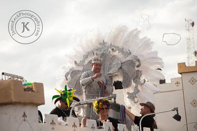 King of the Krewe of Gemini Parade