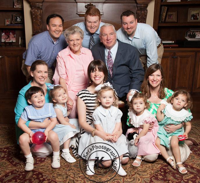 Geneux and Keck Family Portrait 5