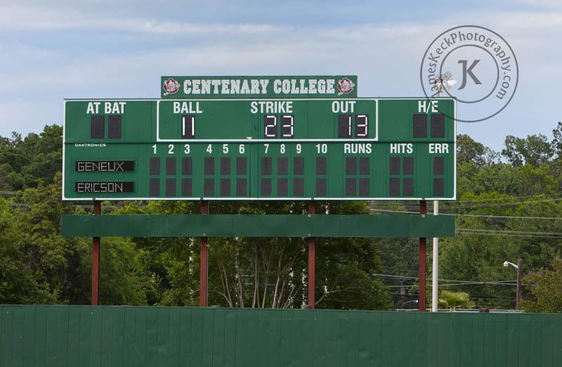 Centenary Baseball Field Engagement Photos