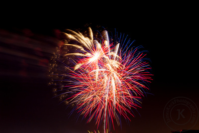 family portrait, photos, fireworks, Fourth of July, Independence Day