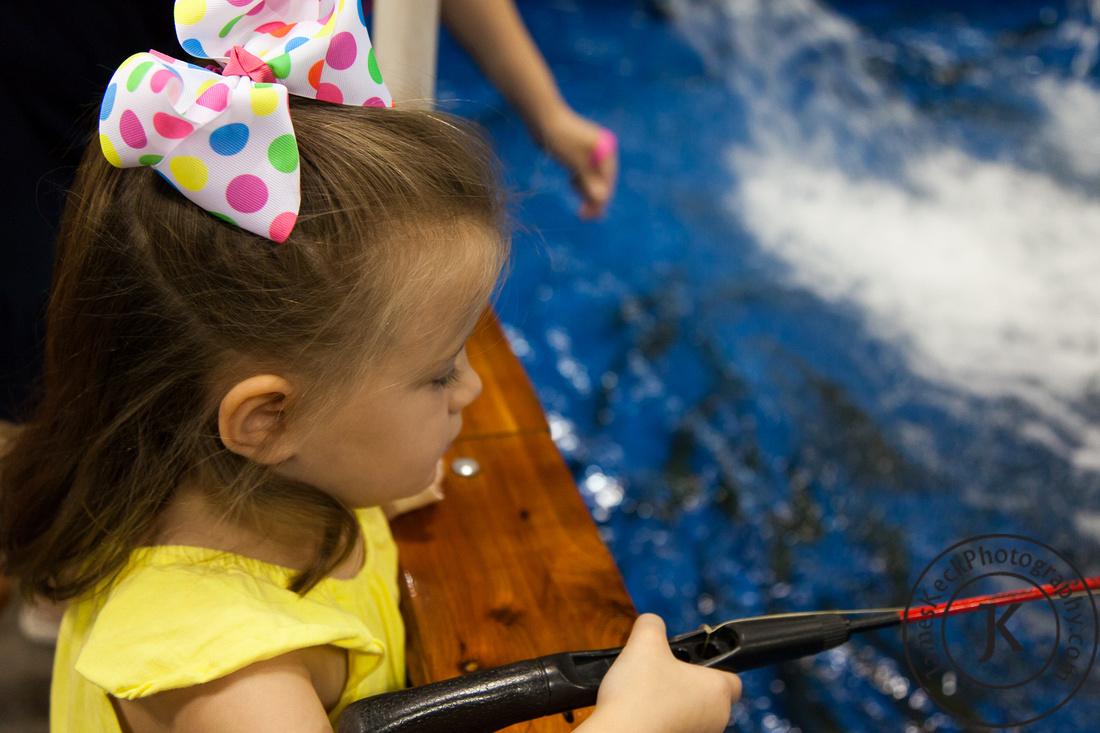 Audrey Children Fishing Portrait Photography