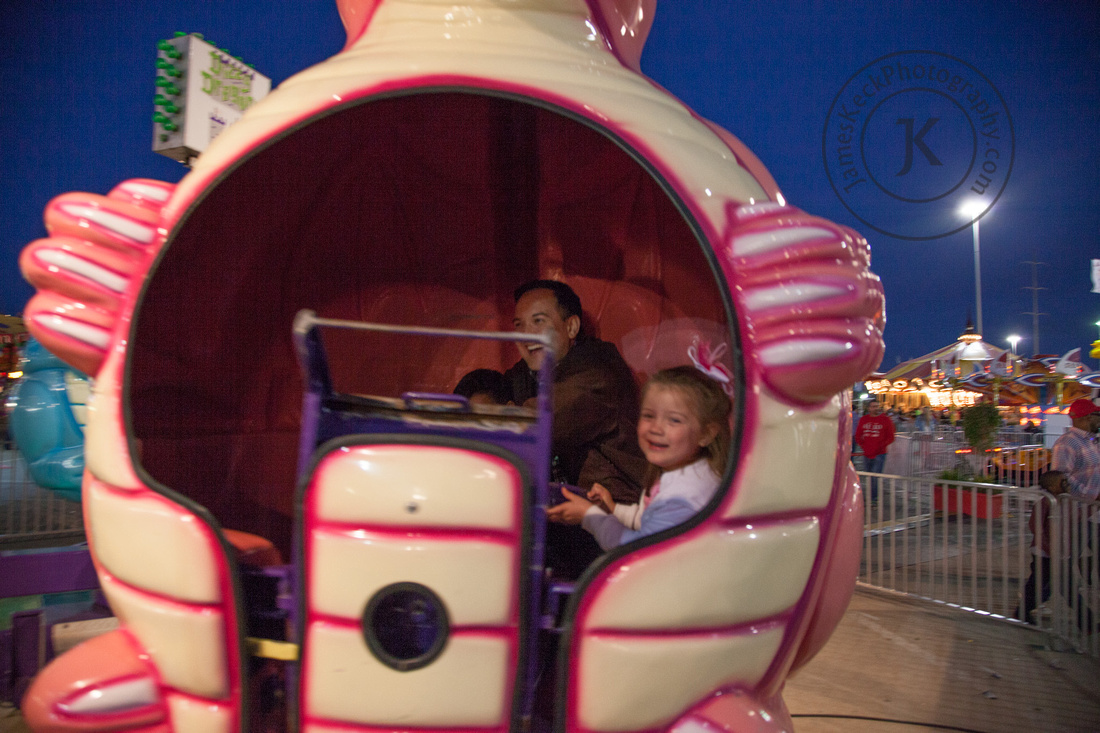 William, Audrey, and Me Riding Spinner Ride 3