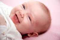 Smiling Baby Portrait