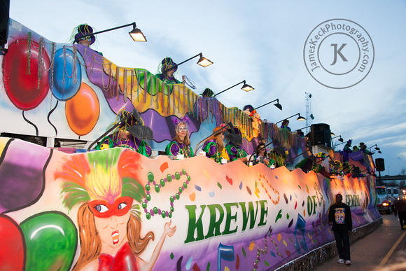 Krewe of Gemini Float