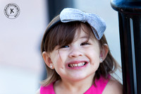 Portrait of Huge Smile on Little Girl